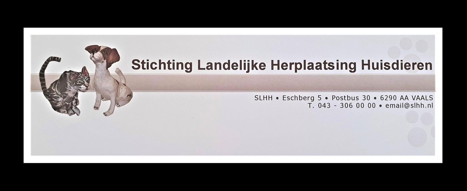 STICHTING LANDELIJKE HERPLAATSING HUISDIEREN